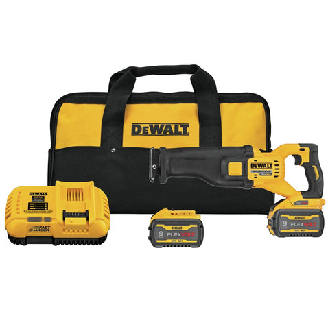 DeWalt DCS389X2 FLEXVOLT® 60V MAX* BRUSHLESS CORDLESS RECIPROCATING SAW KIT