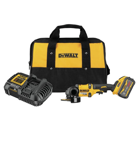 "DeWalt DCG418X1 FLEXVOLT® 60V MAX* BRUSHLESS 4 1/2"" - 6"" CORDLESS GRINDER WITH KICKBACK BRAKE KIT"