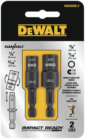 Image of DeWalt DWADEND-2 Double Ended Detachable Nut Driver