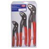 KNIPEX 00 20 06 US1, Cobra Pliers 7, 10, and 12-Inch Set, 3-Piece
