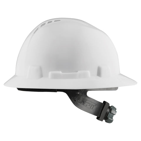 Image of LIFT Safety HBFC-7W Briggs Full Brim Vented Hard Hat - White