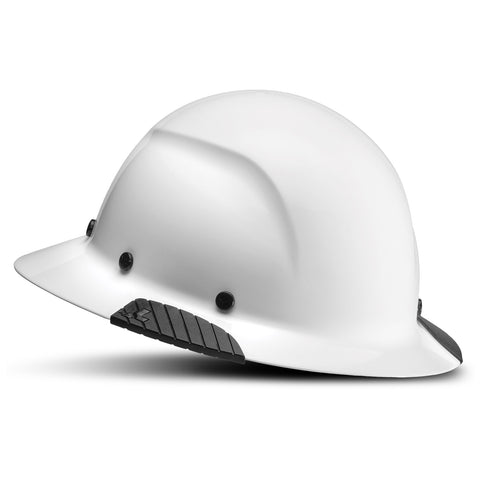 Image of LIFT Safety HDF-15WG DAX Full Brim Hard Hat - Ratchet Suspension - White