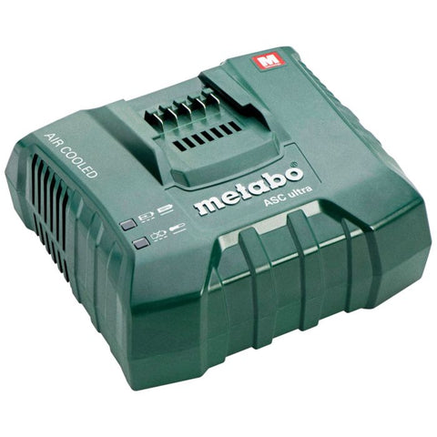 Metabo 627268000 ASC Charger for 18 and 36-Volt Lithium-Ion/LiHD Batteries