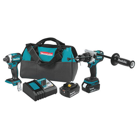 Makita 18V LXT Brushless 2-Pc. Combo Kit