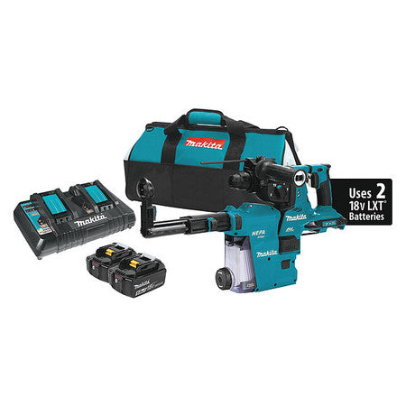 Makita Cordless Rotary Hammer Kit, 36.0V, LXT Lithium-ion