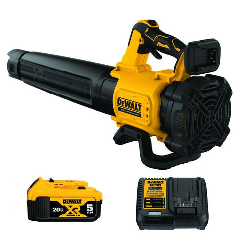 DeWalt DCBL722P1 125 MPH 450 CFM 20-Volt MAX Lithium-Ion Cordless Brushless Blower with One 5 Ah Battery and Charger