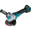 "Makita XAG25Z 18V LXT® Lithium‑Ion Brushless Cordless 4‑1/2"" / 5"" X‑LOCK Angle Grinder, with AFT®, Tool Only"