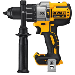 DeWalt DCD996B 20-Volt MAX XR Lithium-Ion Cordless 1/2 in. Premium Brushless Hammer Drill Includes Belt Hood and 360° side handle