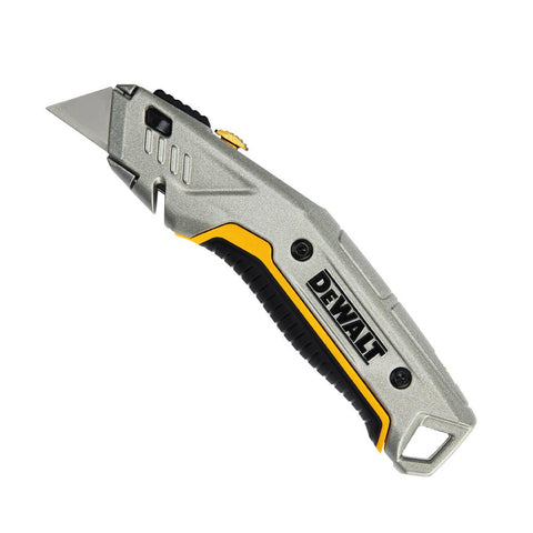 Dewalt DWHT10914 Instant Change Retractable Utility Knife, Gray Made in USA