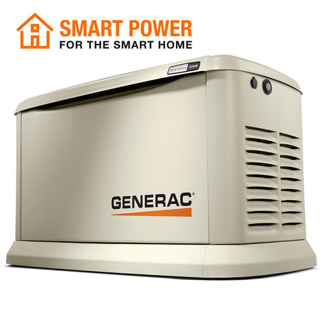 Generac 7042 Guardian Series 22000-Watt (LP)/19500-Watt (NG) Air-Cooled Standby Generator with Wi-Fi