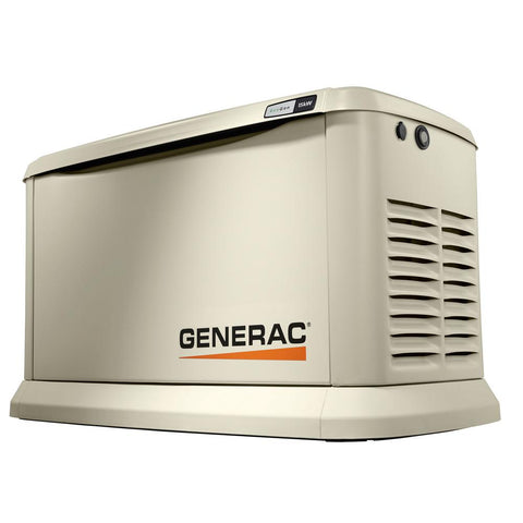 Generac 7163 EcoGen 15,000-Watt Air-Cooled Standby Generator with Wi-Fi