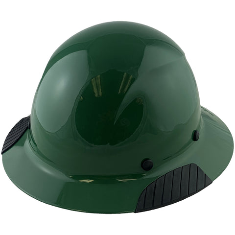 Image of LIFT Safety HDF-19GG DAX Fiberglass Composite Hard Hat - Full Brim Factory Green