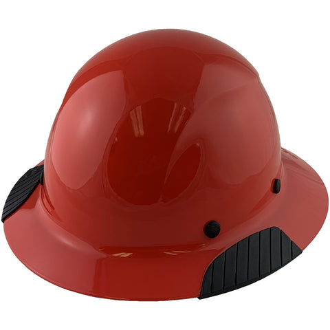 Image of LIFT Safety HDF-20RG DAX Fiberglass Composite Hard Hat - Full Brim Factory Red