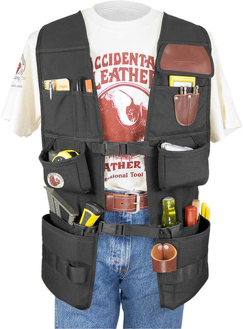 Occidental Leather 2575LH OxyPro Tool Fastener Work Vest - Left Handed