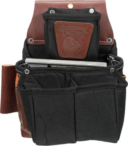 Occidental Leather B8064LH Left Handed OxyLights Fastener Bag, Double Outer Bag