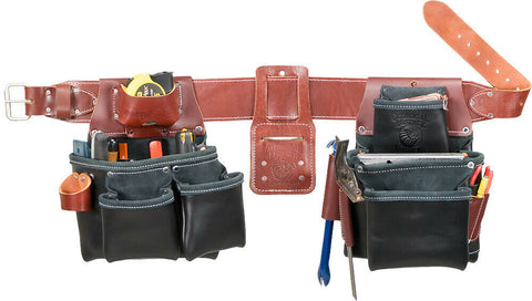 Occidental Leather B5080DBLH Black Pro Framer Framing Tool Bag Set