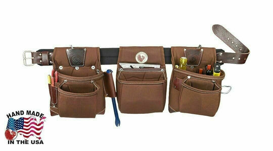 Occidental Leather 8385 Black Belt Rough Framer Tool Belt Set