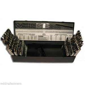 Fastenal # 53841 SP115 115pc Drill Bit Set w/ Fractional, Numbers & Letters USA