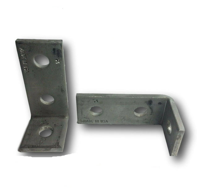 (4651S1) P1346 3-Hole 90° StaInless Steel Corner Angle for Unistrut Channel