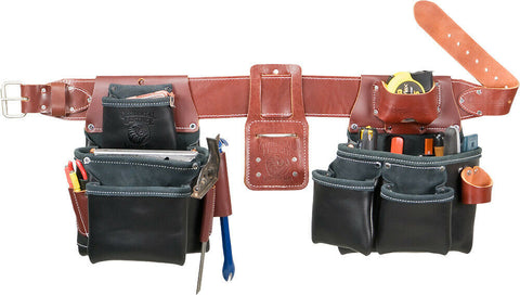 Occidental Leather B5080DB Black Pro Framer Tool Bag Set