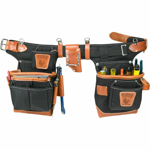 Occidental Leather 9850 Adjust-to-Fit FatLip Tool Belt Set - Black