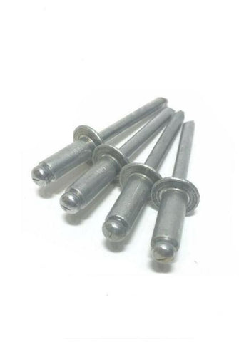 "1/8"" Dia. x 1/4"" Grip Range POP Rivets ALL AlumInium 4-4 ABA44"