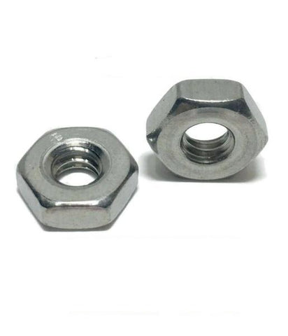 #10-32 StaInless Steel FInished Hex Nuts 304 / 18-8