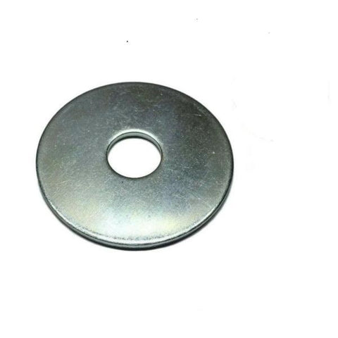 "1/4"" X 1 1/2"" Zinc Plated Fender Washers"