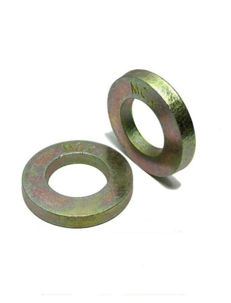 "(Qty 1000) 5/16"" Extra Thick Flat Washers SAE Grade 8 Hardened MCX Mil-Carb"
