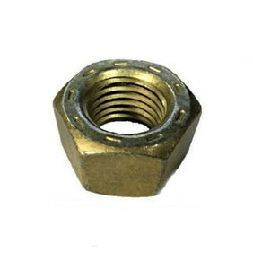 "(QTY 25) 5/16""-18 Grade 9 Finished Hex Nut L9 USA Yellow Zinc Plated L-9 Nuts"