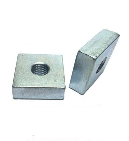 "(#4842) P1959 3/8""-16 X 1-1/4"" X 1-1/4"" Square Nuts for Unistrut Channel"