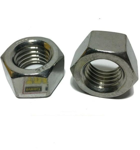 "1/4""-20 UNC 316 Grade StaInless Steel FInished Hex Nut Grade 316"