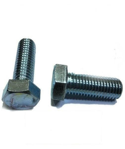 "1""-8 x 3"" Hex Bolt Zinc Plated Grade 5 Cap Screw Full Thread"