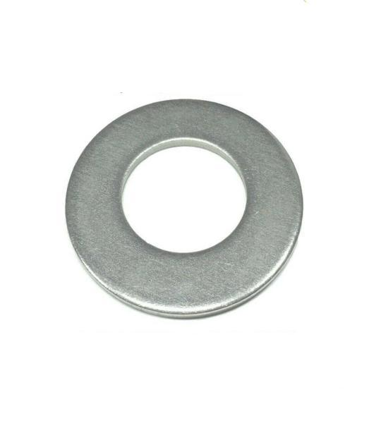 "(Qty 10) 1"" Stainless Steel Flat Washers 18-8 Stainless 2"" OD / .105 Thick"