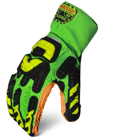 IronClad VIB-OBM-XOR Extreme Oil Protection Glove (Green)
