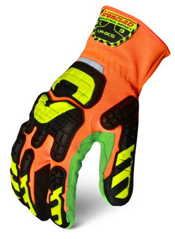 IronClad LPI-OC5 Low Profile Impact Open Cuff Cut 5 Glove