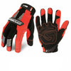 Ironclad IVO2 Hi-Vis Orange Reflective Safety Work Gloves