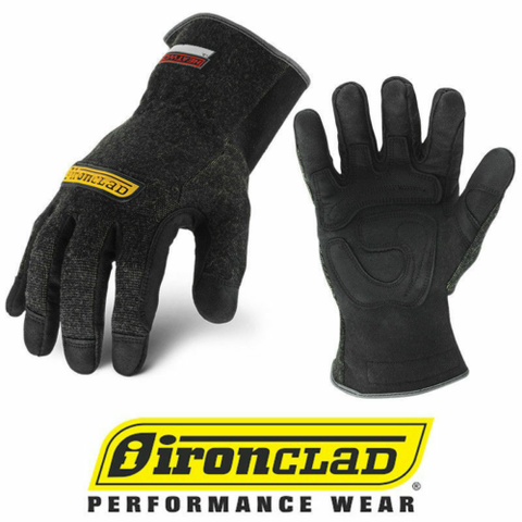 Ironclad Heatworx HW4 Heat & Cut Resistant Safety Work Gloves