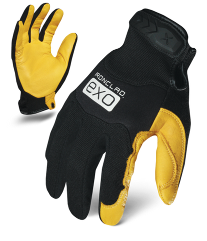 IronClad Gloves EXO2-MPLD Motor Pro Gold Deer Leather