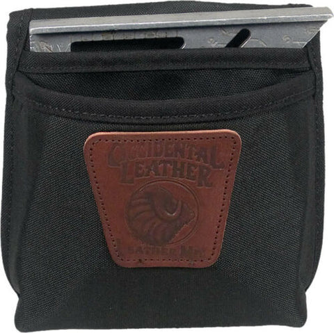 Image of Occidental Leather 9503 Clip On Large Pouch Single Pocket w Angle Square Holster