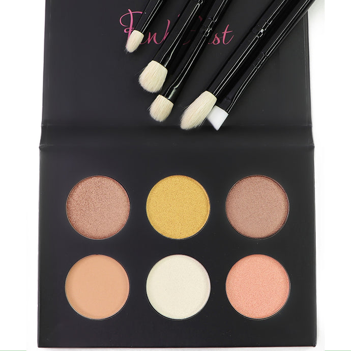 GLOW Palette & All About Eyes Brush Set