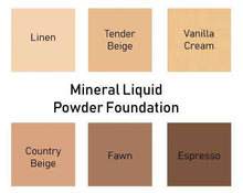 Load image into Gallery viewer, Mineral Liquid Powder Foundation