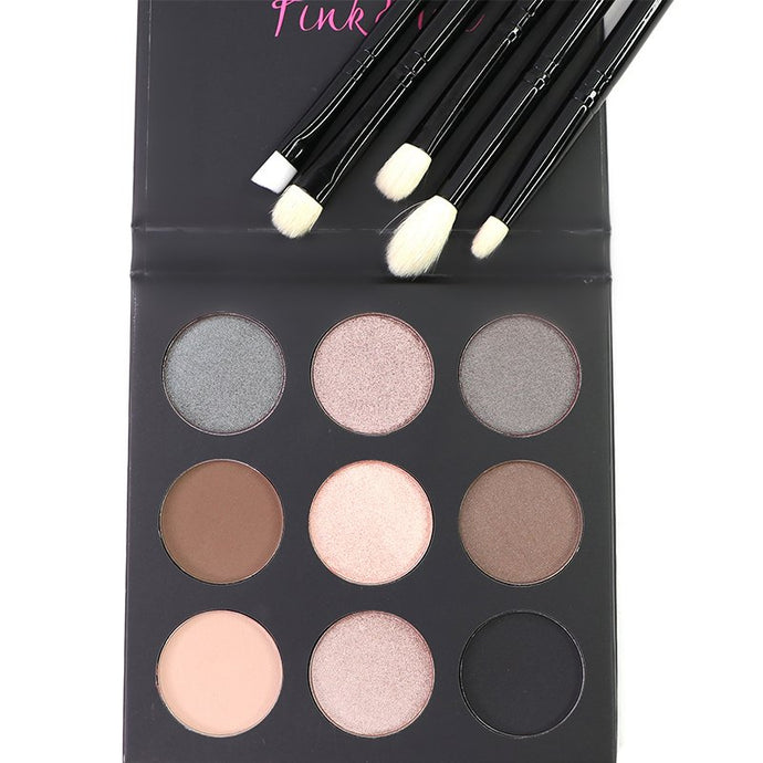 Smoked Palette & All About Eyes Brush Set