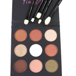 Warm Hearted Palette & All About Eyes Brush Set
