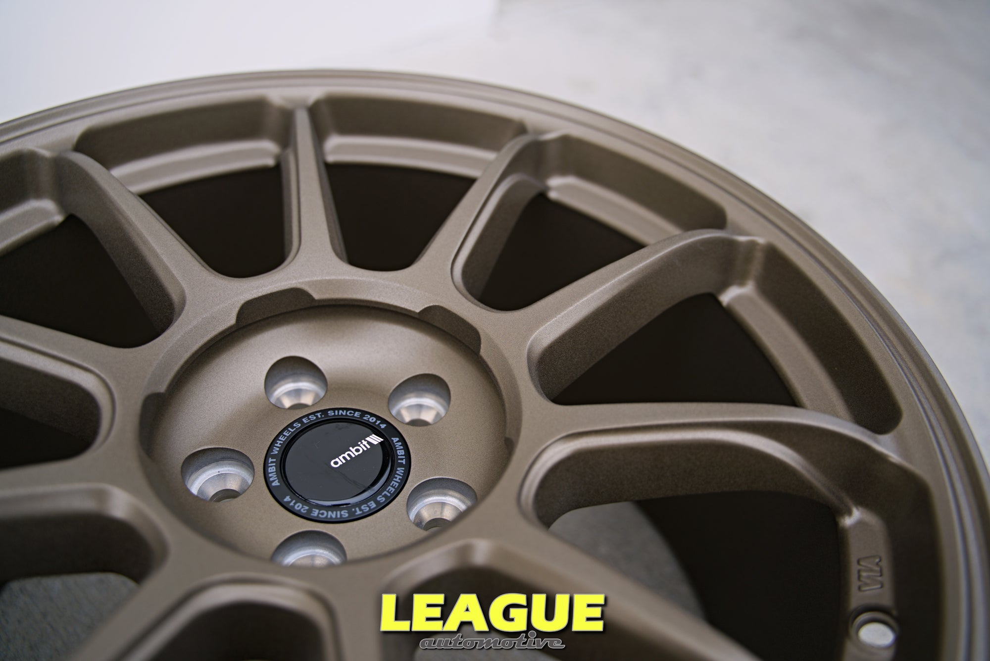 AMBIT RT8 5x108 SEMI-CONCAVE FACE - Ford Focus ST