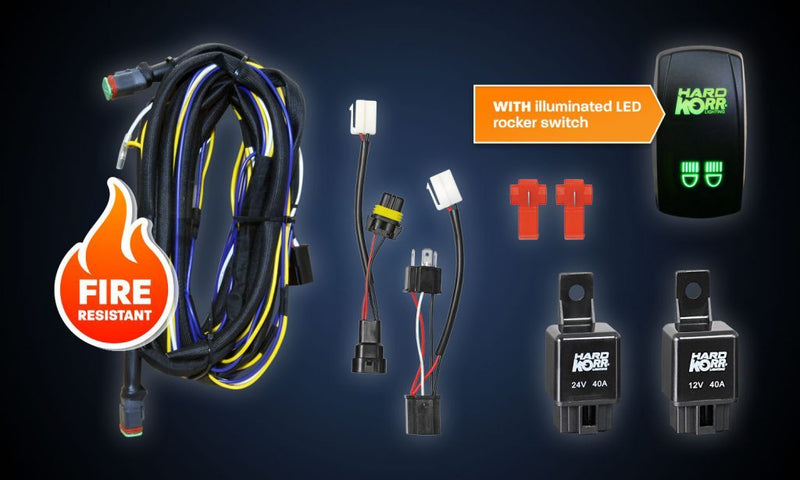 Hard Korr USA Dual Wiring Harness Kit