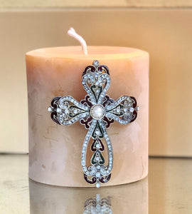 Candle Cross Pins