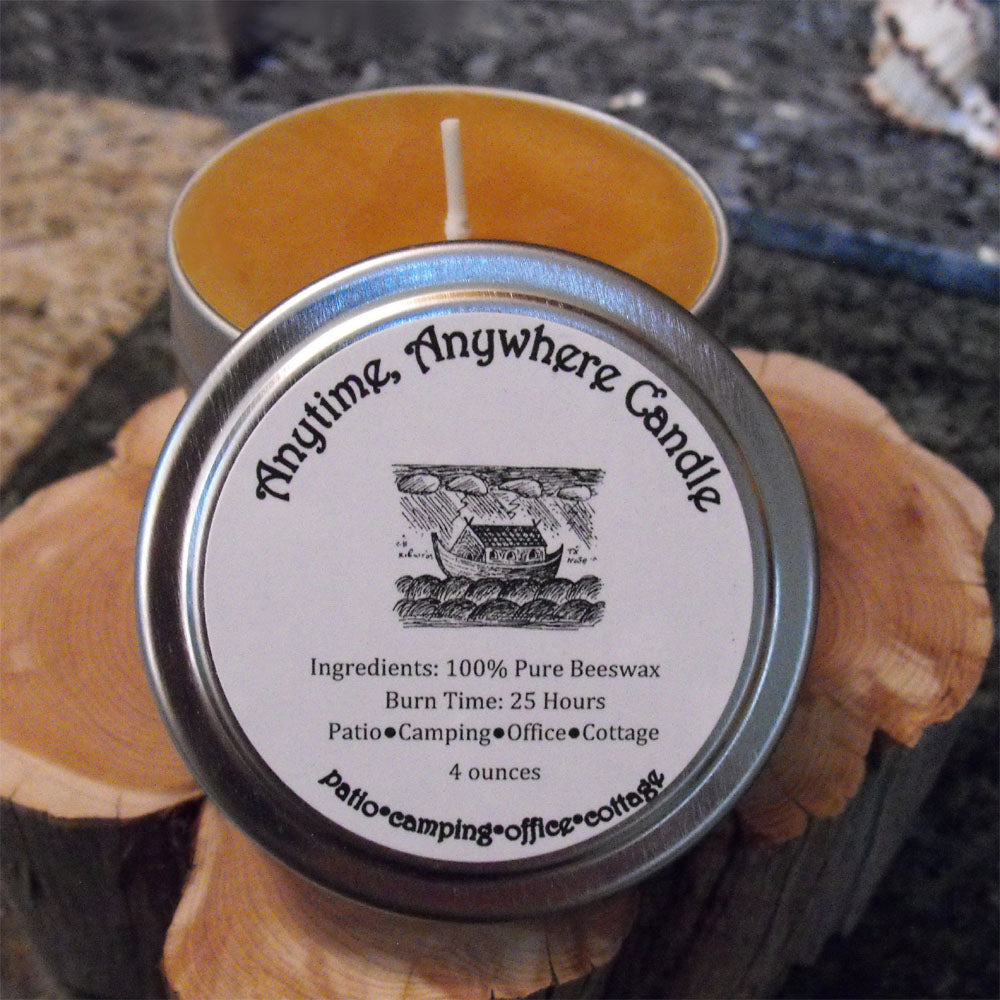 Anytime Anywhere candle (4oz)