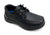 Boys Black Lace-Up Shoes
