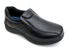 Toddler Boys Black Slip-On Shoes - Boston School Uniform